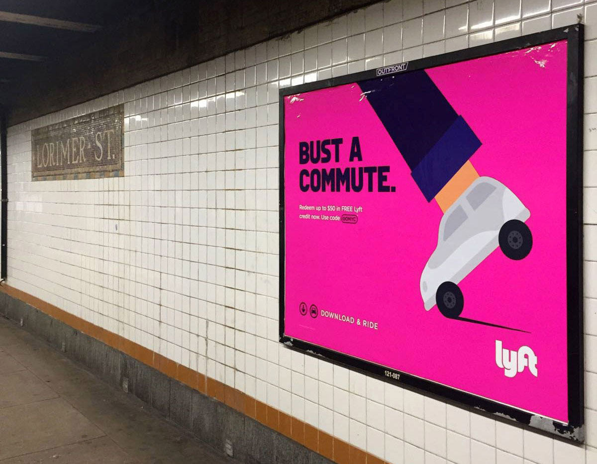 Noma Bar - LYFT Campaign Advertising